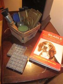 Beagle book, Stamp set