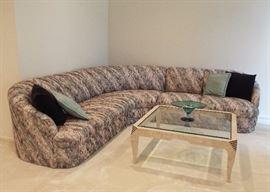 Custom made sectional sofa