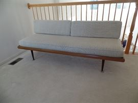 2 Matching Mid Century couches w/ matching side chair (at this point chair is not showned)