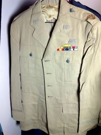 Army Air Corp Uniform WWII Named Soldier