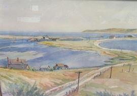 Geo. Elmer Browne Watercolor