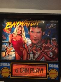 BAYWATCH PIN BALL WOW!