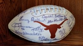 Signed Longhorns Football