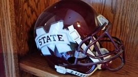 Signed Mississippi State Helmet