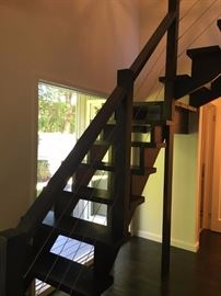 cable rail stairs