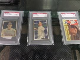 GRADED BASEBALL CARDS