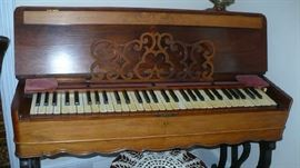THIS MELODEAN  HAS BEEN IN THE FAMILY OVER 138 YEARS