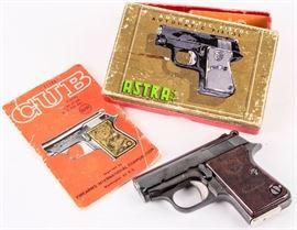 Lot 37 - Gun Astra Cub in 22 Short Semi-Auto Pistol