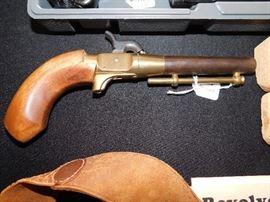 Single shot replica dueling pistol.