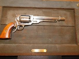 1861 E. Whitney Revolver Replica, Black powder .36 cal, appears to never have been fired.