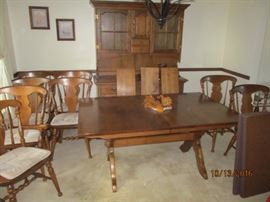 dining table 9 chairs