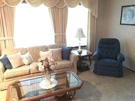 Off White formal sofa
