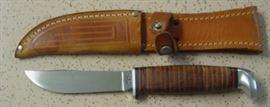 1960's Case XX Hunting Knife w/Sheath