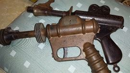 Much 1940's-50's-60's Mid Century Items- from toys to furniture!! Daisy 25th Century space guns