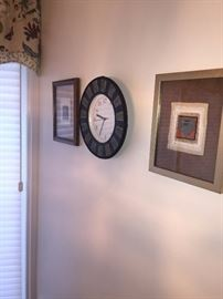 FRAMED ART-WALL CLOCK