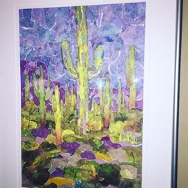 J. EATON ORIGINAL FRAMED ART