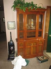 CHINA CABINET AND VACUUM