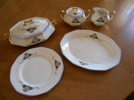 Some pieces of China Set
