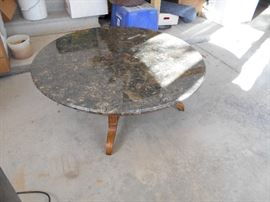 Coffee Table, Marble Top