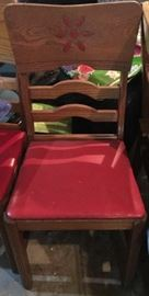 Here is a closer look of chair - pre 1950's