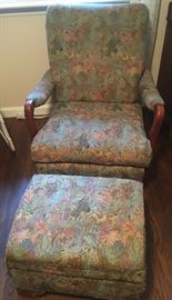 Rocking Chair with matching Ottoman