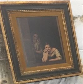 'Two Women at a Window' Girl & Her Duenna (Chaperone) Bartoleme Esteban Murillo 1655-1660