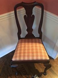 HENKEL HARRIS Dining Room Side Chairs (6)