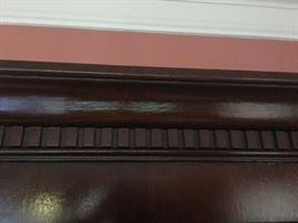 Crown Detail on Breakfront