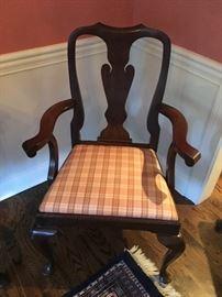 HENKEL HARRIS Dining Room Arm Chair (2)