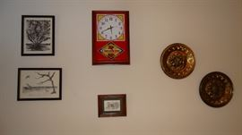 CheerWine Clock
