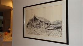 Ray Eyerly Barn Print