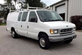 1999 Ford Econoline E250 Cargo Van, 86,749 Miles, VIN: 1FTPS2427XHA95670