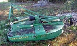 "John Deere 616 PTO Driven 72"" Mower Deck"
