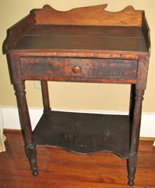 C. 1830 Tiger Maple Washstand