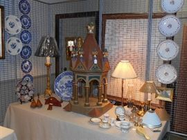 Altar piece, etc