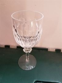 """Waterford """"Curraghmore"""" water glass, one of six"""
