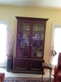 Gorgeous Bookcase or Display Cabinet