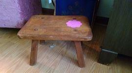 Vintage Cushman stool