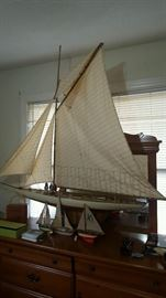 Need a sail boat! This one is pretty cool!  We have. Lot of Marine themed collectibles.