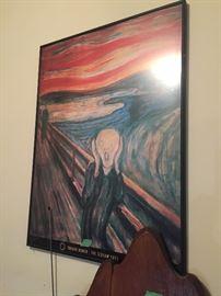 The  scream   Artwork  $25