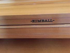 KIMBALL PIANO AND PIAN0 BENCH