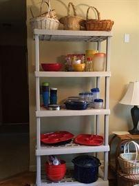 Assortment of kitchen supplies