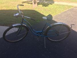 2 girls vintage bikes