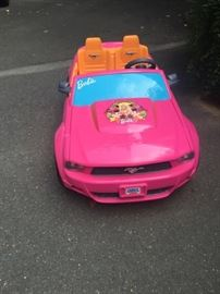 Barbie Dream Car - battery operated