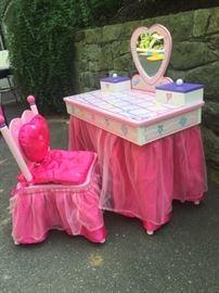 Princess vanity - $80