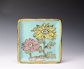 Lot 17 -Ceramic Flower Tray