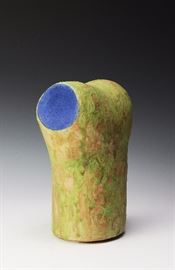 Lot 19 -Scope, Ceramic Abstract, Susan Papa, 2003