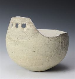 Lot 31 -Asymmetrical Ceramic Bowl, Ani Kasten