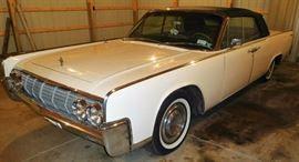 1964 Lincoln Continental 4 Door (Suicide Doors) Convertible 98,729 Miles