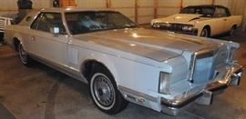 1978 Lincoln Mark V 2 Door Hardtop Coupe 94,997 Miles
